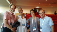 From the left: Peter Taylor-Gooby, Ana M. Guillén, Heejung Chung and Wim van Oorschot
